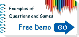 Free Demo, Examples of Questions and Games